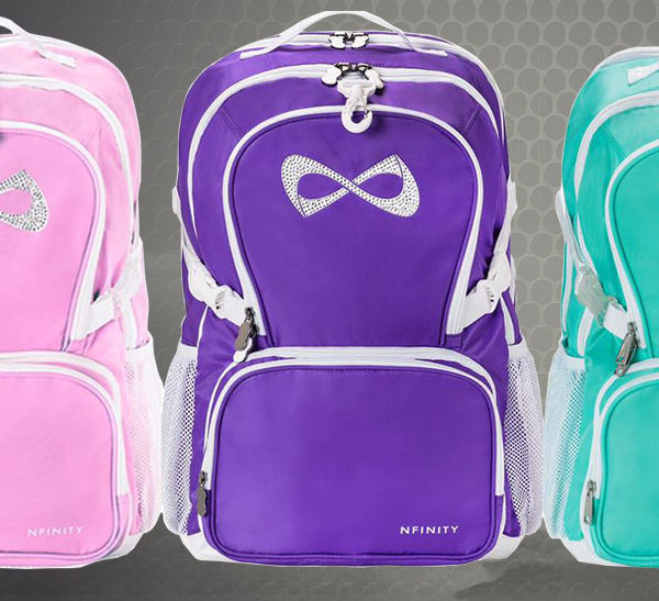 amazon p infinity dp nfinity sports co backpack uk sparkle red nf outdoors cheer backpacks